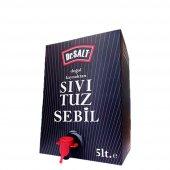 Dr. Salt Doğal Kaynak Sıvı Tuz Sebil Çeşmeli 5 lt. 6 kg.