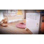 Vigo Dijital 500 Watt Beyaz Elektrikli Panel Konvektör Isıtıcı EPK4550E05B-5