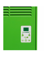 Vigo Dijital 2000 Watt Yeşil Elektrikli Panel Konvektör Isıtıcı  EPK4590E20Y-3