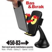 Automix Ergonomik Telefon Tutucu Süper Vantuzlu -2