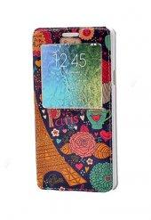 Paris Temalı Galaxy A7 Pencereli Gizli Mıknatıslı Kılıf