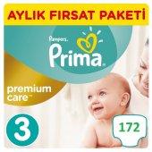 Prima Premium Care 3 Beden Aylık Paketi 172 Adet 5 9 Kg
