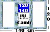 120 X 140 ISI CAMLI PENCERE