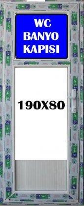 80x190 Buzlu Cam Wc Ve Banyo Kapısı