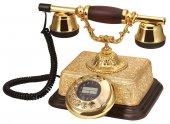 şato Altın Varaklı Klasik Telefon