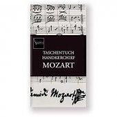 Mozart Notalı ve İmzalı Mendil