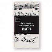 Bach Notalı ve İmzalı Mendil