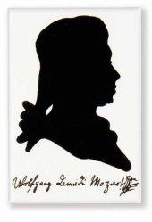 Mozart Portreli Magnet