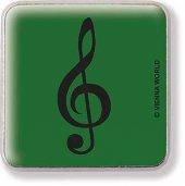 Sol Anahtarlı Yaka İğnesi Yeşil