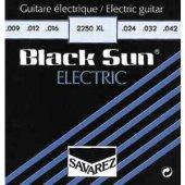 Elektrogitar Tel Set Black Sun