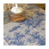 Valencıa Masa Örtüsü Mavi