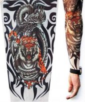 Kaplan Motifli Giyilebilir dövme