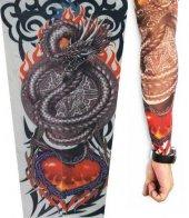 Ejderha Desenli Giyilebilir Dövme