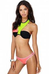 özel Tasarım Renkli Bikini