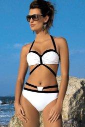 Beyaz Özel Tasarım Bikini