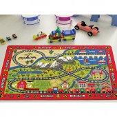 Confetti 200x290 Cm Railway Anaokulu & Çocuk Odası Oyun Halısı