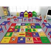 Confetti 200x290 Cm Study Time Anaokulu & Çocuk Odası Oyun Halısı