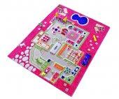 Ivi 80x113 Çocuk Odası Evcilik Pembe Oyun Halısı