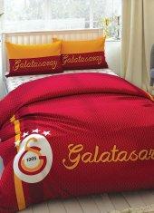 Taç Lisanslı Galatasaray Çift Kişilik Nevresim Takımı Strıped Gs