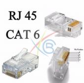 Rj45 Cat5 Jack Konnektör 100 Adet Soket Rj 45