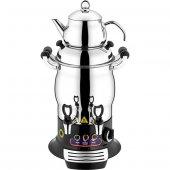 Remta Tek Demlikli Mini Semaver 5Lt Çay Makinası