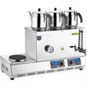 REMTA 55 Model Çay Kazanı Elektrikli Pleytli