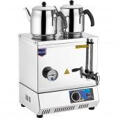 REMTA 30 Model Çift Demlik Çay Kazanı Elektrikli