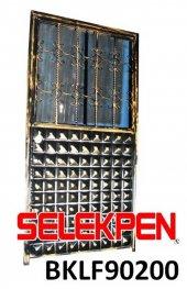 90x200 Baklava Ferforje Demir Kapı Camsız