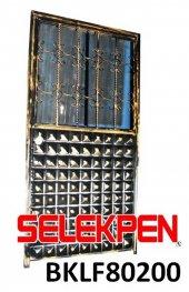 80x200 Baklava Ferforje Demir Kapı Camsız