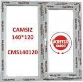 EN 140X120 BOY PENCERE-CAMSIZ