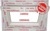 40X40 / 50X50 - PVC TUVALET PENCERE-CAMSIZ