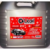 Licoil Antifriz organik G12 Kırmızı Antifri 15 Kg Bdn(-25 Derece)