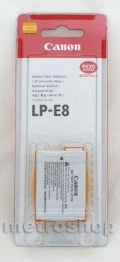 CANON LP-E8 ORJİNAL BATRYA - 550D 600D 650D 700D-2