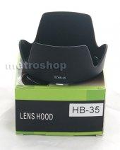 Nikon 18-200mm LENS İÇİN HB-35 PARASOLEY-2