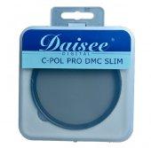 Daisee 58mm C-POL PRO DMC Ultra Slim CPL Polarize Filtre-3