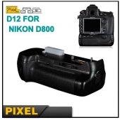 Nikon D800, D800E,D810 İÇİN PİXEL BATTERY GRİP MB-D12-11