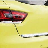 Spider Renault Clio4(2013) Krom Stop Alt Çıtası 4 Prç