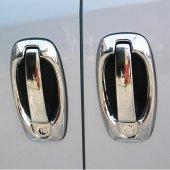 Spider Fiat Doblo2(2010) Krom Kapı Kolu 4 Kapı 8 Prç. (Set)