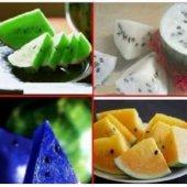 4 Farklı Renkte Karpuz Tohumu Toplam 8 Tohum