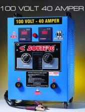 Soyberg 140 Akü Şarj Cihazı 100v 40a 8 Akülük