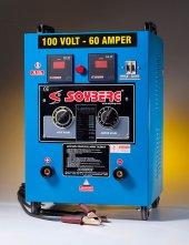 Soyberg 160 Akü Şarj Cihazı 100v 60a Yıldırım Şarj Özelliği