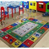 Confetti 100x150 Cm Lesson Anaokulu & Çocuk Odası Oyun Halısı