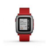 Pebble Time Akıllı Saat Kırmızı-2