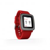 Pebble Time Akıllı Saat Kırmızı-3