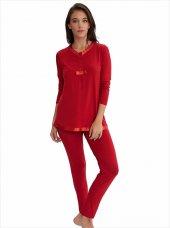 Ayyıldız 59468 Saten Biyeli Pijama Takımı