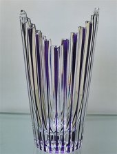 Decostyle El Yapımı Kristal Dekorlu Vazo