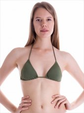 63502 Klasik Üçgen Bikini Üstü