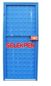 100X200 MAVİ DOLU DEMİR KAPI-2