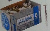 Made Kalibre Takım Dübel Pul Başlı Vidalı 100...
