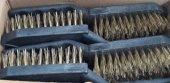 Edoni Tel Fırça Plastik Siyah No 6